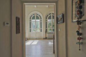 Corridoio villa storica in vendita domoria torino